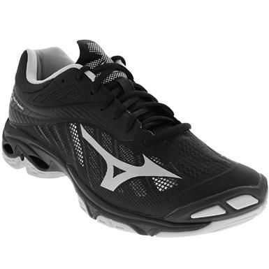Mizuno Wave Lightning Z4 Volleyball Shoes - Mens Black .