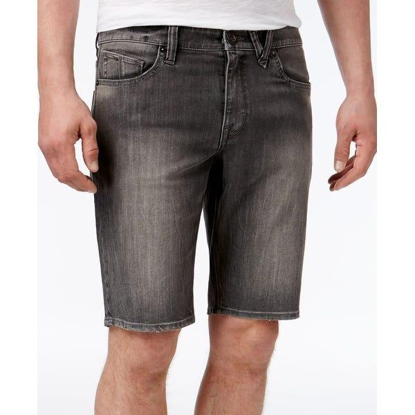 Shop Volcom NEW Gray Men's Size 29 Solver Modern Straight Denim .