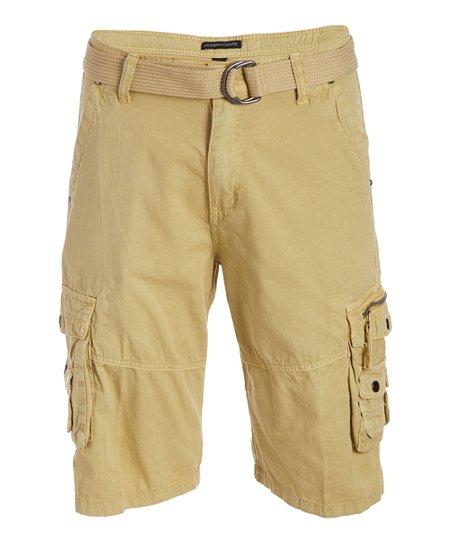 Modern Culture Khaki Horizon Cargo Shorts - Men | Zuli