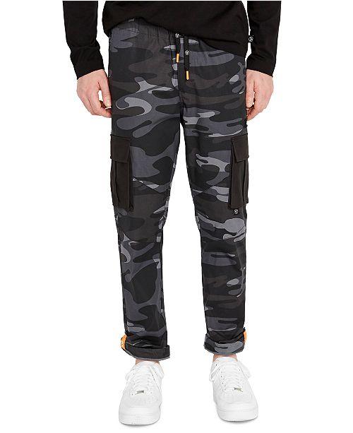 Avirex Men's Black Camo Cargo Pants & Reviews - Pants - Men .