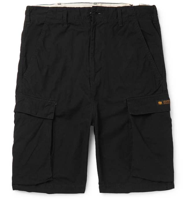 Neighborhood Cotton-Ripstop In Men Black Mens Cargo Shorts Shorts .