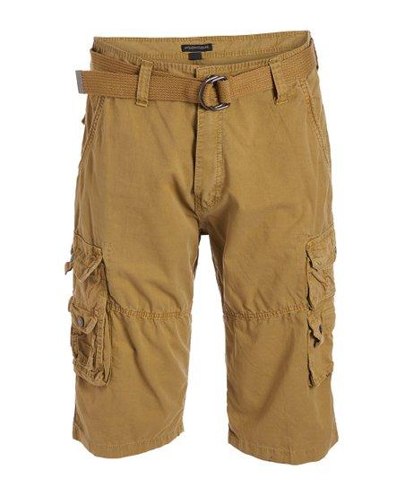 Modern Culture British Khaki Journey Cargo Shorts - Men | Zuli