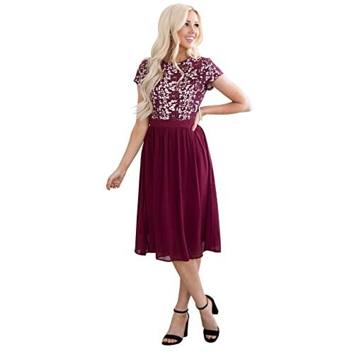 Modest Women's Formal Dresses: Amazon.c