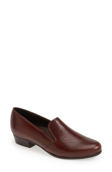 Munro 'Hailey' Leather Loafer (Women | Loafers, Munro shoes .