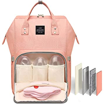 Amazon.com : HaloVa Diaper Bag Multi-Function Waterproof Travel .