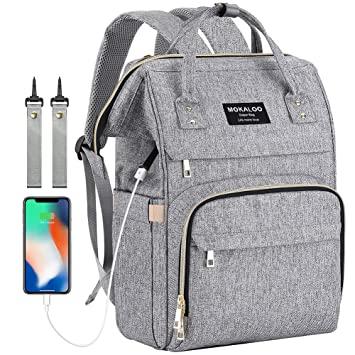 Amazon.com : Diaper Bag Backpack, Mokaloo Large Baby Bag, Multi .