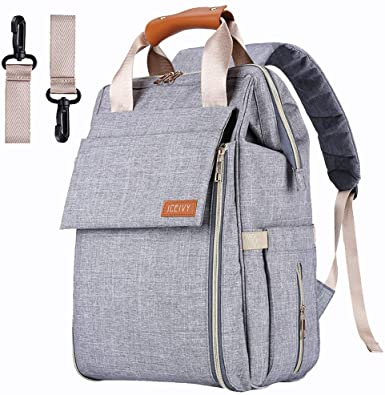 Amazon.com: Baby Diaper Bag Backpack, Baby Bag,Multi-Function .