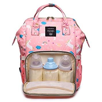 Amazon.com : LEQUEEN Diaper Bag Multi-Function Baby Diaper .