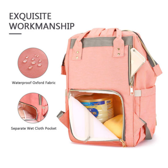 China Multi-Function Waterproof Travel Backpack Nappy Bags for .