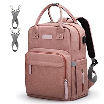 Amazon.com : Diaper Bag Backpack Upsimples Multi-Function .