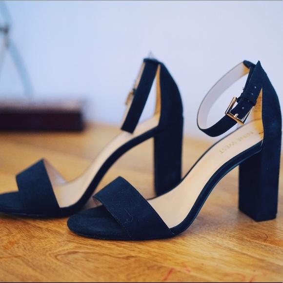 Nine West Shoes | Navy Blue Heels | Poshma