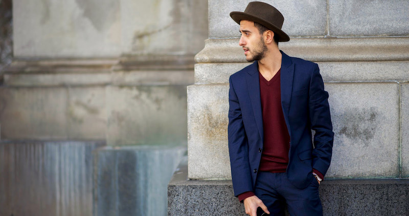 The Reason Of Having Navy Blue Suit For Men In Wardro