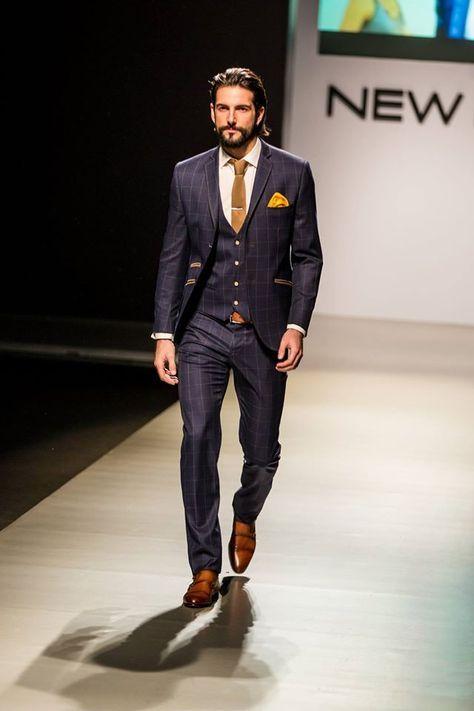 Suits, Men Style, Mens Fashion,Navy Suit, Men Fashion, Men'S .