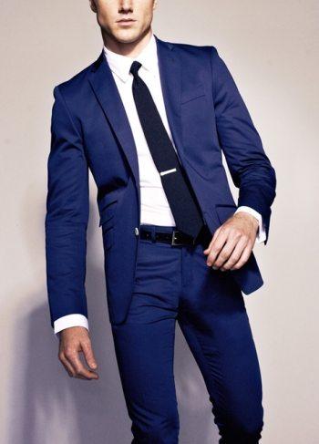 Color in Menswear | The Navy Blue Mens Su