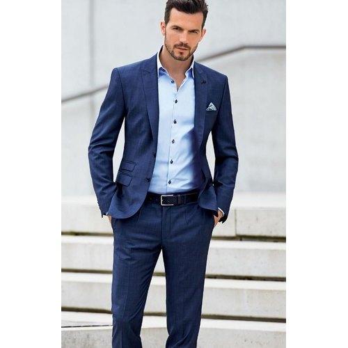 2 Piece Suit For Men Navy Blue - Wedding Gale
