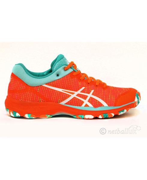 ASICS Gel Professional 14 FF Orange Netball Traine