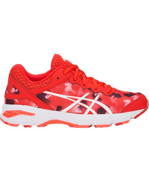 ASICS Gel Professional GS Fiery Red Junior Netball Traine