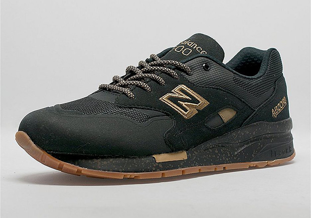 The New Balance 1600 Gets The Winning Combo of Black, Gold, and .