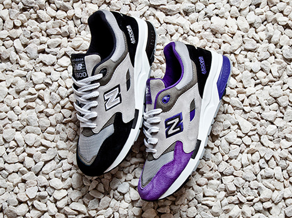 """New Balance 1600 """"Black and Purple"""" Pack - SneakerNews.c"""