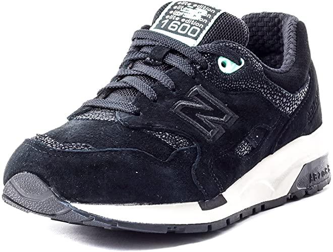 Amazon.com | New Balance Women's 1600 Meteorite Black Sneakers 5 .