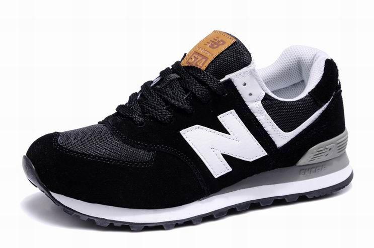 New balance 574 women shoes NB574UC BLACK | Nb shoes, New balance .