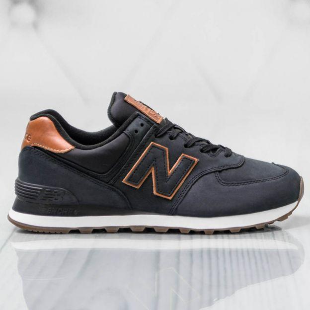 Shoes Men - New Balance 574 ML574NBI (Black) - Promotions | Shop .