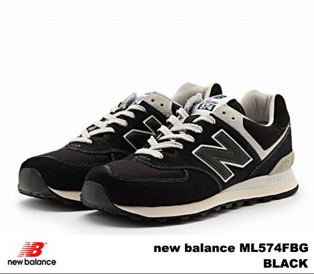 PREMIUM ONE: New balance 574 black new balance ML574 FBG BLACK .