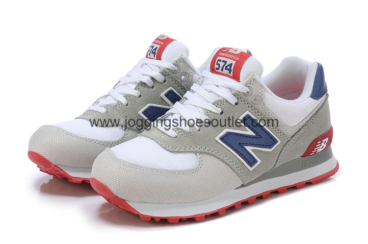 New Balance Shoes With Sl2 Last 574 Shoes Grey Whi