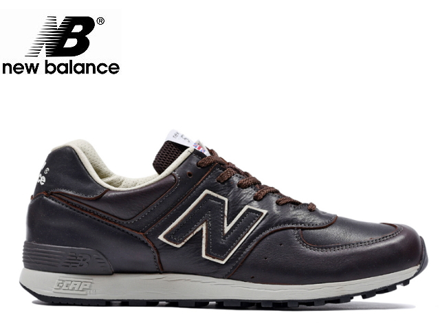 Face to Face: Product made in New Balance 576 uk leather brown .