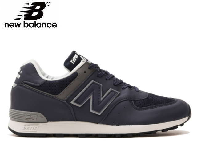 Face to Face: Product made in New Balance 576 uk leather blue .