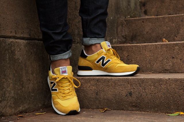 New Balance 670 (Black And Yellow Pack) - Sneaker Freak