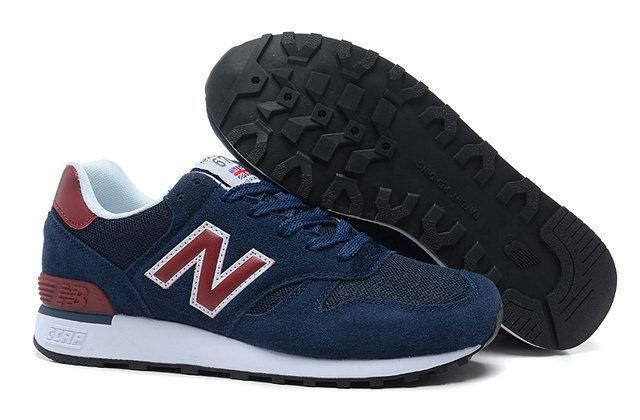 Discount New Balance M670SNR NC Navy Red White Mens NB-670 .