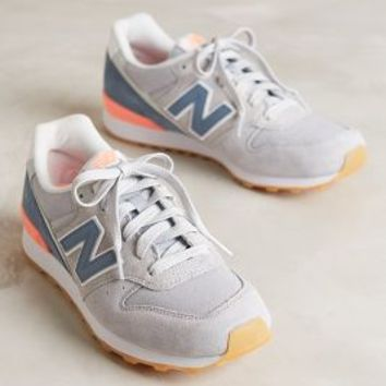 balance shoes womens new balance 696 athletic shoe – Red Proces