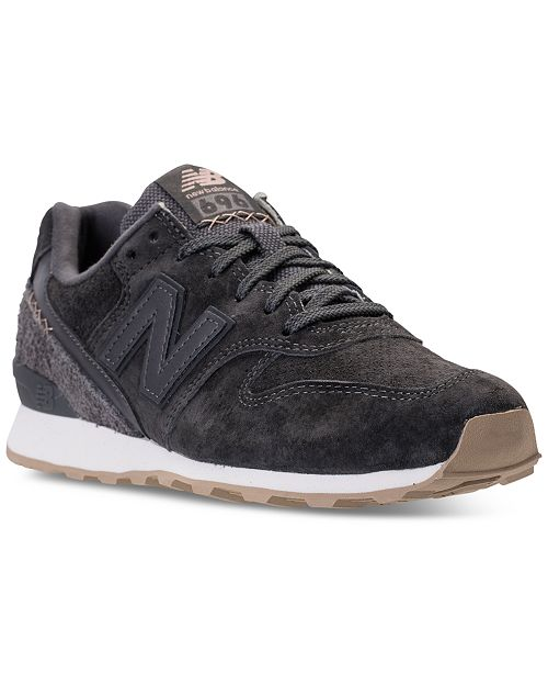 New Balance Women's 696 Suede Casual Sneakers from Finish Line .