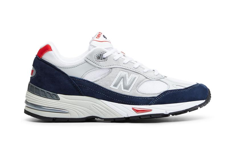 New Balance Refreshes the Made in UK 991 in Grey/Navy/Red | HYPEBEA