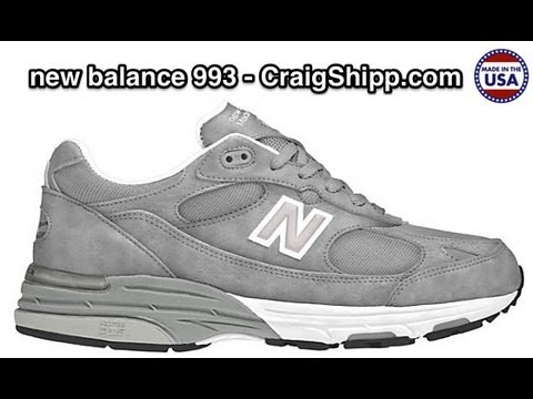 New Balance 993 - Made In The USA - Review - YouTu