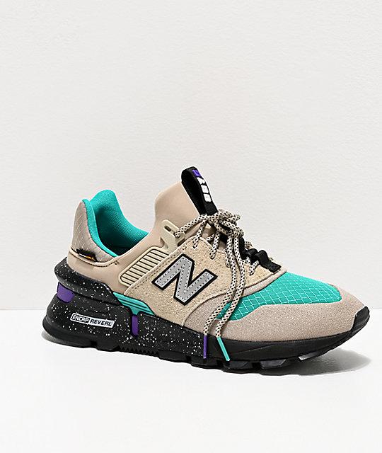 New Balance Lifestyle 997 Sport Stoneware & Verdite Shoes   Zumi