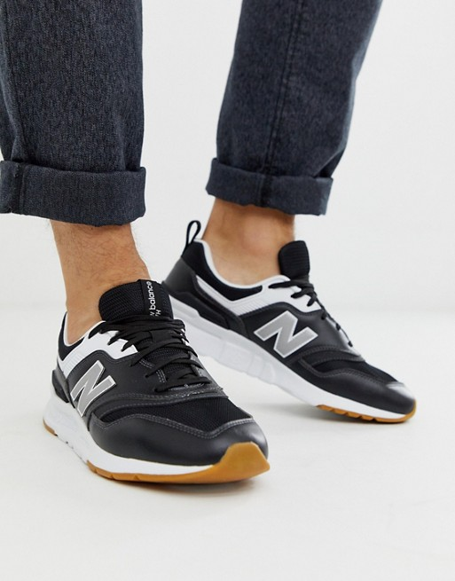 New Balance 997 sneakers in black   AS