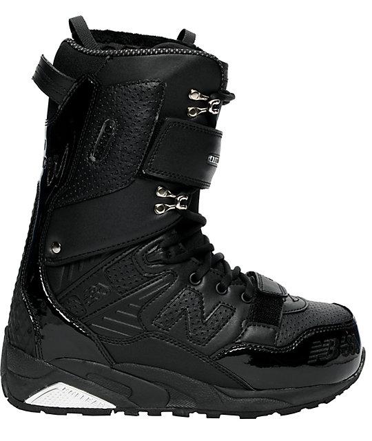 686 x New Balance 580 Black Snowboard Boots   Zumi