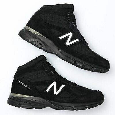 New Balance Men's 990 v4 Black Hiking Boots - Size 12 D .