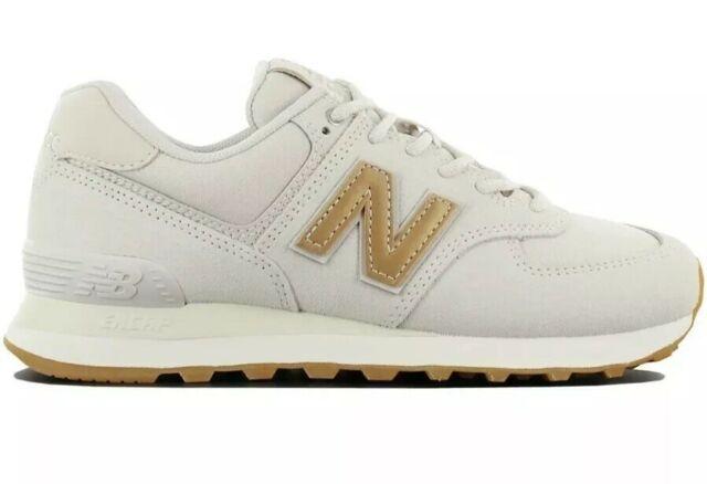 New Balance Classic 574 Women's Size 9 Sneaker Shoes Beige .