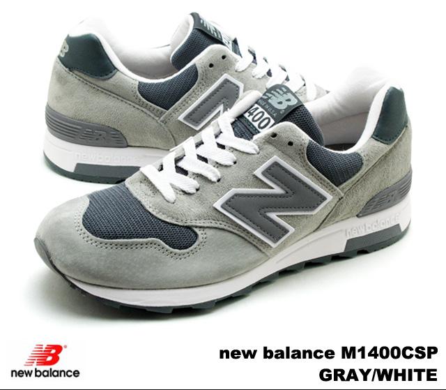 PREMIUM ONE: New Balance 1400 gray white men gap Dis sneakers new .
