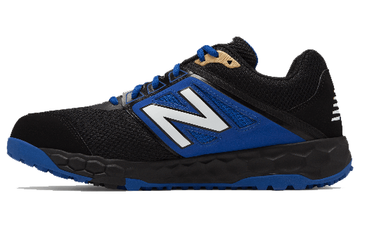 New Balance Men's 3000v4 Turf Shoe (T3000BB4): Black with Bl