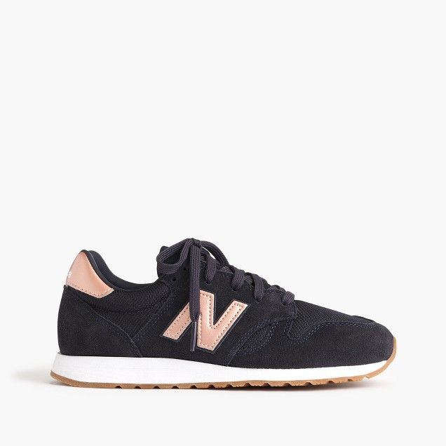 Women's New Balance for J.Crew 520 sneakers in navy rose gold size .