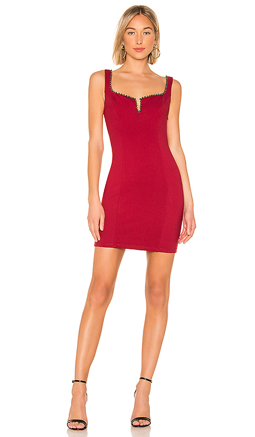 ASTR the Label Girl's Night Out Dress in Cherry Red | REVOL
