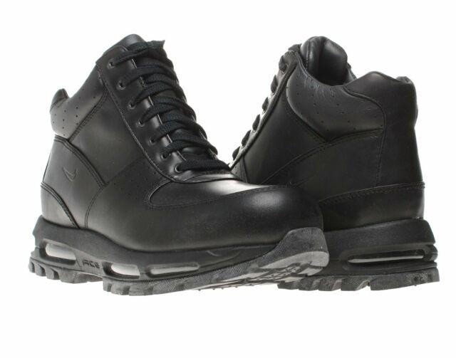 Nike Air Max Goadome ACG Black/Black Men's Boots 865031-009 for .