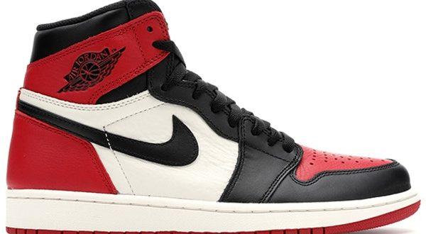 Jordan 1 Retro High Bred Toe - 555088-6