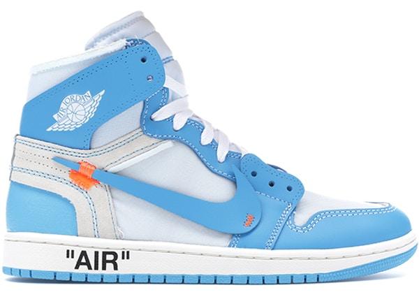 Jordan 1 Retro High Off-White University Blue - AQ0818-1