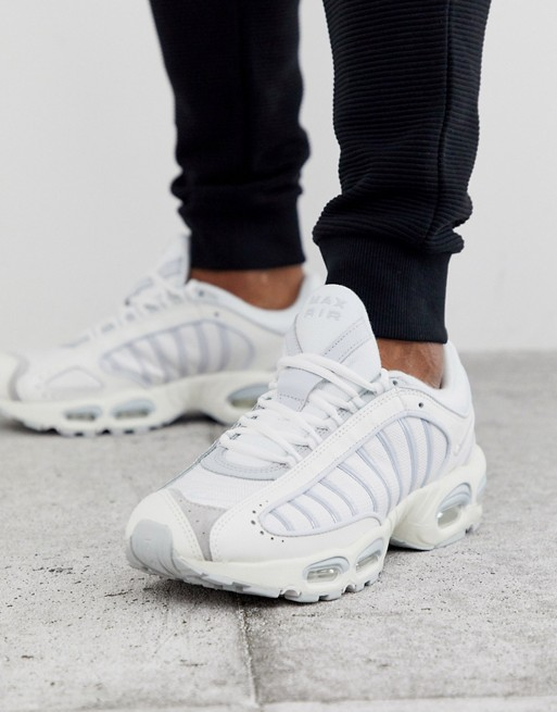 Nike Air Max Tailwind IV sneakers in triple white | AS