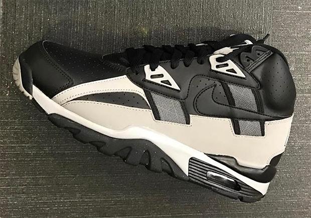 Nike Air Trainer SC High Black Grey Raiders | SneakerNews.c